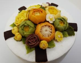 천연색소로 만든 케이크!누구나 쉽게 배울수있는 떡 케이크월요일, 화요일 수업 있어요~