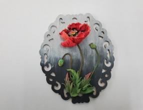 나이프로 꽃을만드는 스컬프쳐아트 입니다