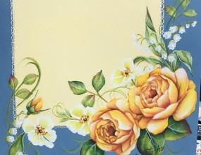 제가 그린 포크아트 장미꽃입니다. 노란 장미꽃의 발색이 조금 까다롭지만 완성하면 그 뿌듯함과 예쁨은 말로 표현하기 어렵습니다. ^^  포크아트는 꽃을 주로 그려냅니다. 장미의 종류도 무한대이며,  각 나라별로 표현하는 기법도 다양합니다.  포크아트를 경험하셨거나, 자격증을 취득하셨다면 취미반 및 연구반수업을 추천합니다.  이미 물감, 붓을 다 가지고 있다면, 원하는 그림을 그리면서 그림에 대한 열정을 놓치지 마세요   수업에 대한 상담을 원하신다면 매주 목요일에 방문해주시면 됩니다.